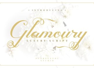 Glamoury Font