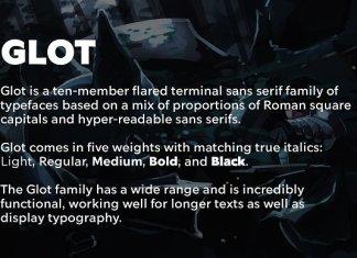 Glot Script Font