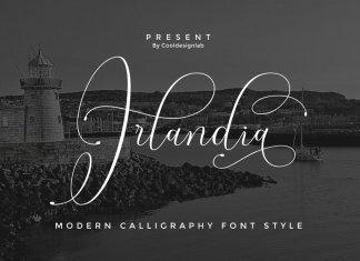 Irlandia Script | Lovely Calligraphy