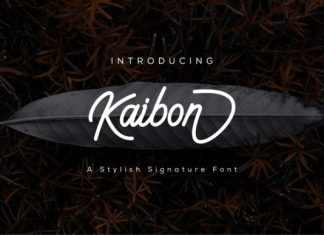 Kaibon Font
