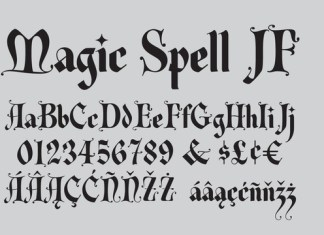 Magic Spell JF Font