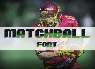 MatchBall Font