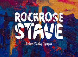 Rockrose StaveRegular Font