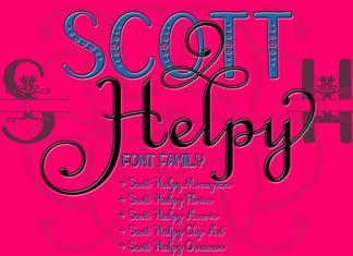 Scott Helpy Big Family Regular Font