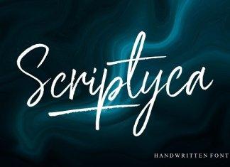 Scriptyca Font