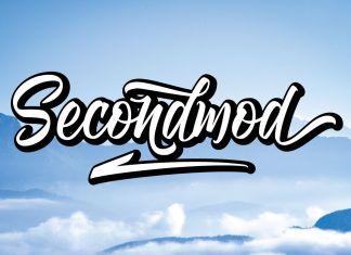 Secondmod Script Font