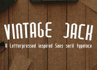 Vintage Jack Regular Font