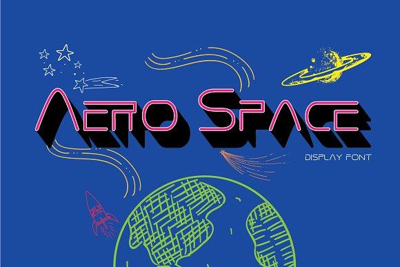 Aero Space Font