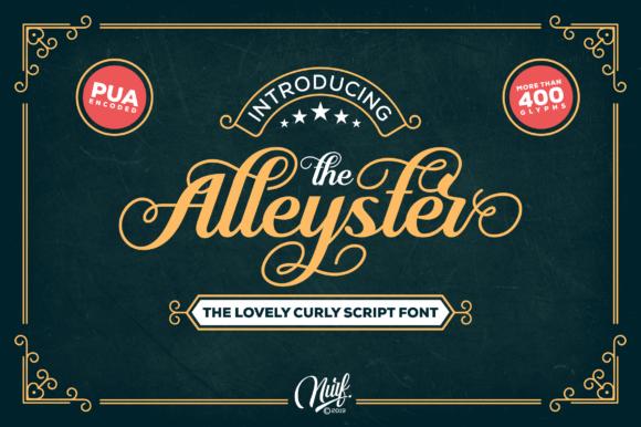 Alleyster Font