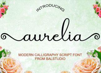 Aurelia Script Font