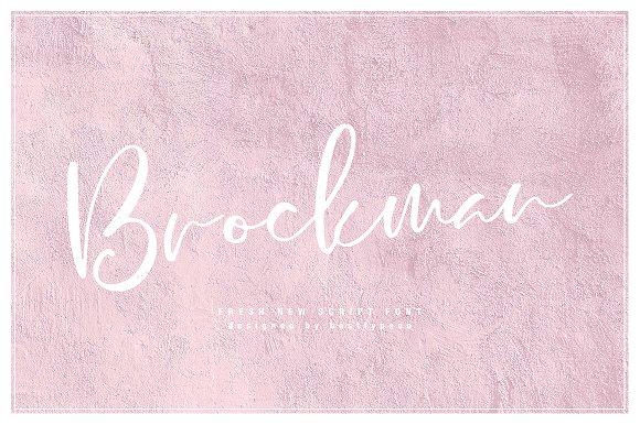 Brockman Font