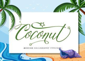 Coconut Script Font