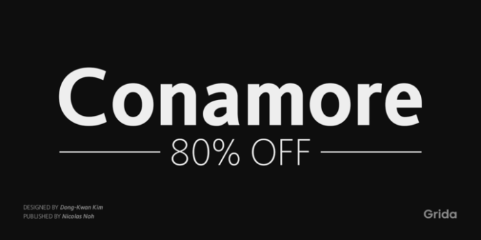 Conamore Font Family