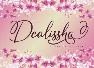 Dealissha Script Font