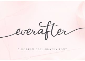 Ever After | A Modern Calligraphy Script Font