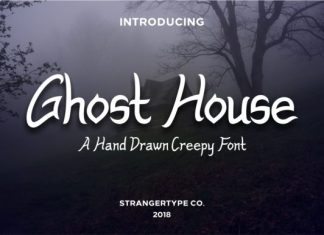 Ghost House Font