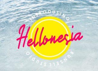 Hellonesia Font