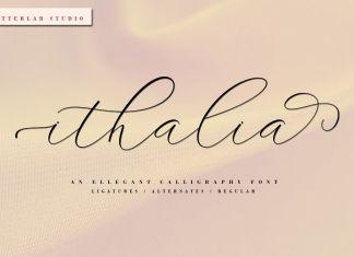 ithalia Script Font