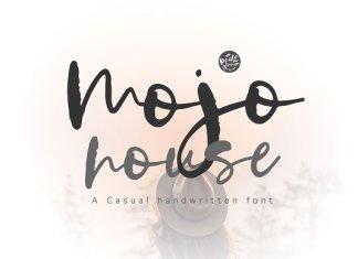 Mojo house | Handwritten Font