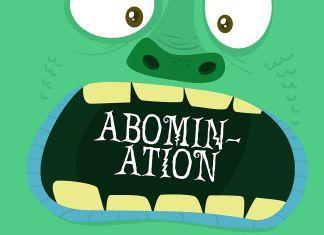 PN AbominationRegular Font
