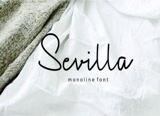 sevilla Script Font