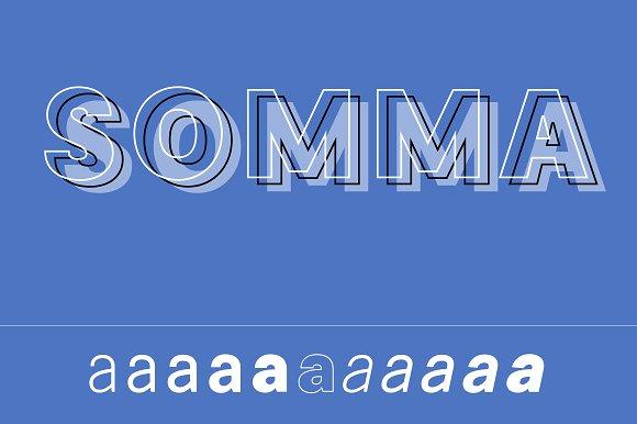 Somma Font