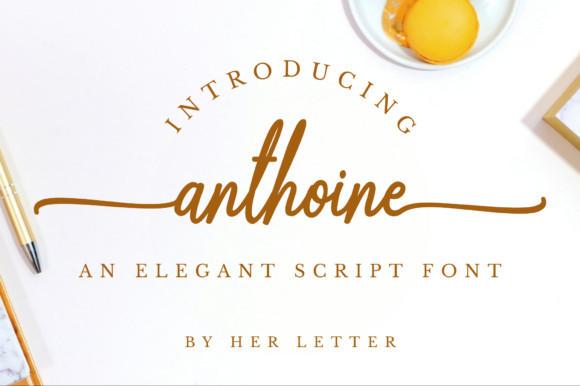 Anthoine Font