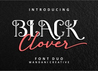 Black Clover | Duo Font