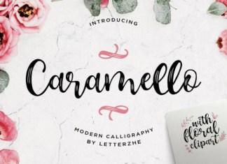 Caramello Font