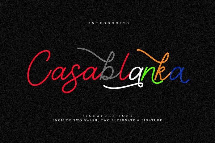 Casablanka Script