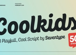 CoolKids Font Family - 4 Fonts