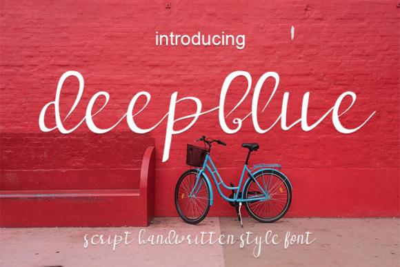 Deepblue Font