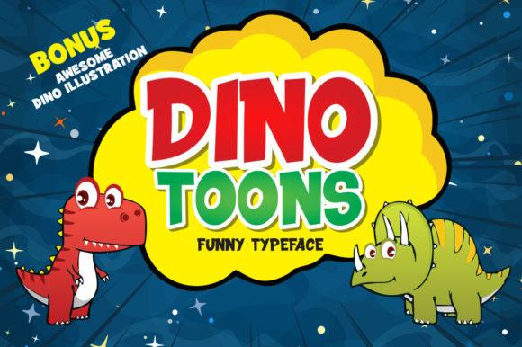 Dinotoons Font
