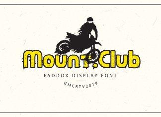 Faddox Font