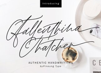 Fallenthina Thatcher Font