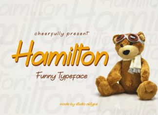 Hamilton Funny Typeface Other Font