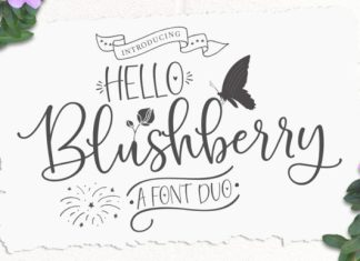 Hello Blushberry Duo