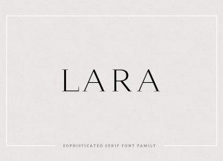 Lara - Sophisticated Serif Typeface Font