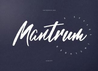 Mantrum - Urban script