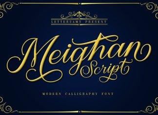 Meighan Script Font