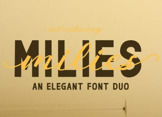 Milies Duo Font