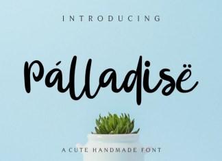 Palladise Cute Font