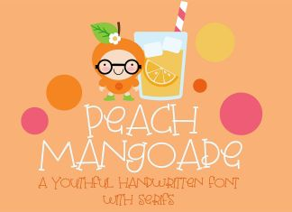 PN Peach Mangoade Regular Font