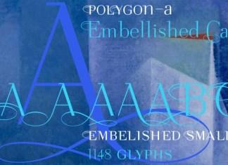 Polygon A Font Family