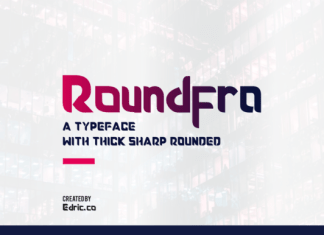 Roundfra font