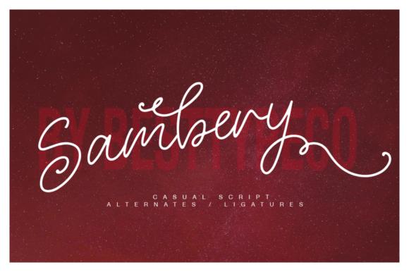 Sambery Font