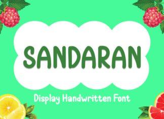 Sandaran Font