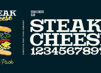 Steak And Cheese Font Family