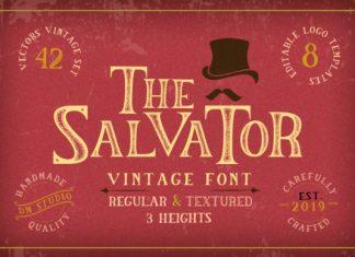 The Salvator Font