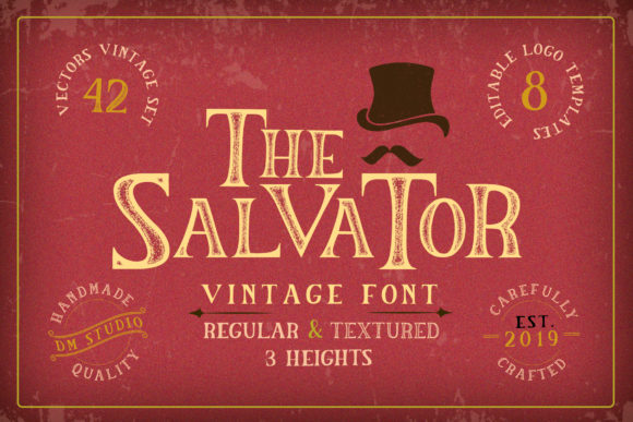 The Salvator Font
